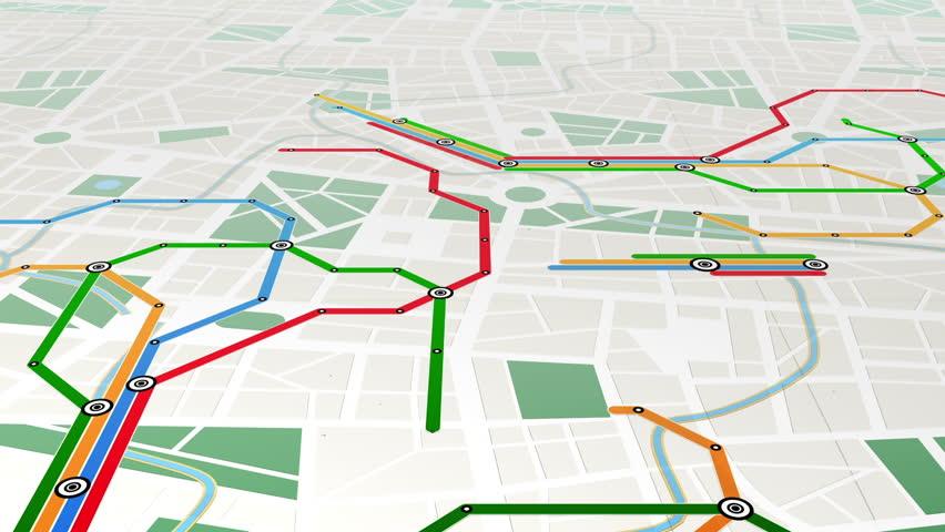 Metro, seamless loop | Shutterstock HD Video #1358119
