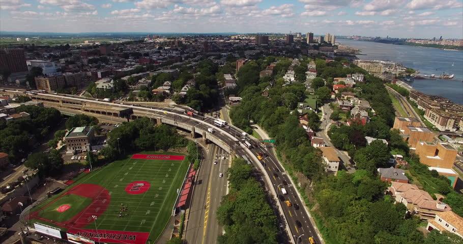 Weehawken and West New York (NJ  2015) Aerial Footage | Shutterstock HD Video #13769729
