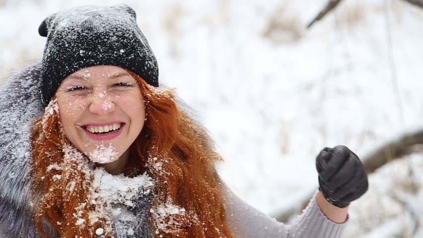 Redhead cold weather images 535