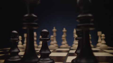 Chess boards and chess pieces game