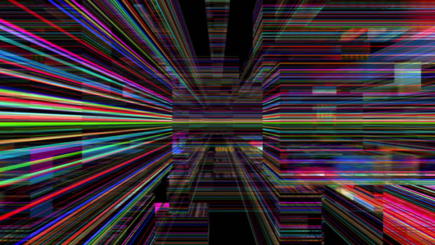 Abstract 0503: Traveling through a maze of refracted light (Video Loop). | Shutterstock HD Video #13859009