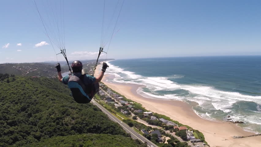 Pov Paraglider Pilot Chase Cam Stock Footage Video (100% Royalty-free)  13866299   Shutterstock