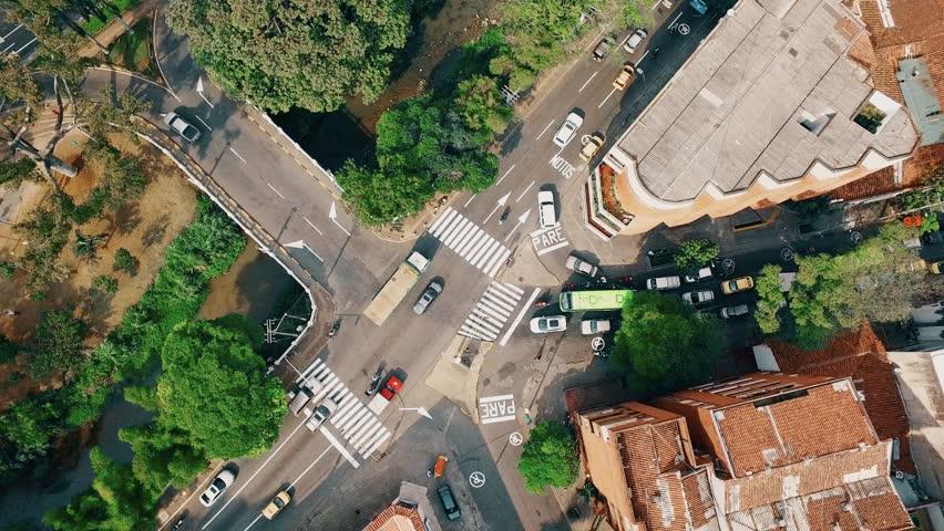 Cali aerial view cat street