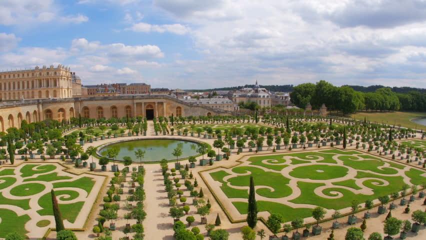 versailles palace, paris, france, 4k