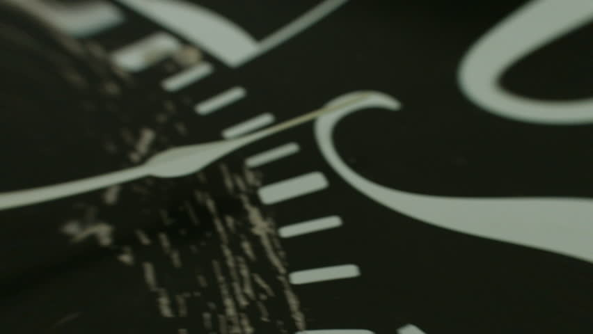 The dial blurrier arrows on the clock. 4K 30fps ProRes (HQ) | Shutterstock HD Video #14182289