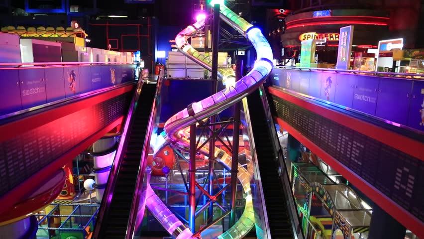 DUBAI, UAE - DECEMBER 5: Sega Republic, Indoor Theme Park ...