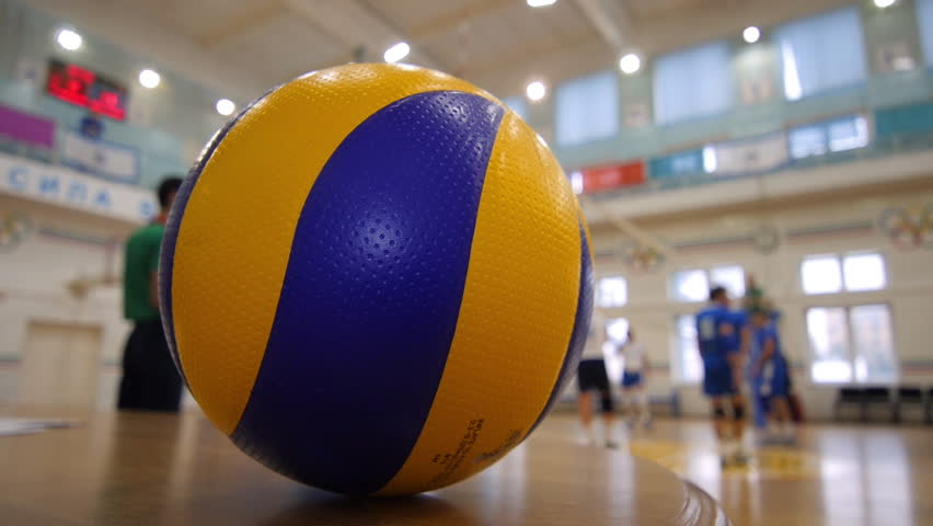 Background Abstract Sport Volleyball Blue Yellow Ball: Volleyball Images Hd
