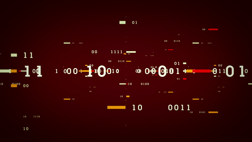 Binary Data Bits - Binary numbers and data passing through cyberspace. This clip is available in multiple color options and loops seamlessly. | Shutterstock HD Video #14396869