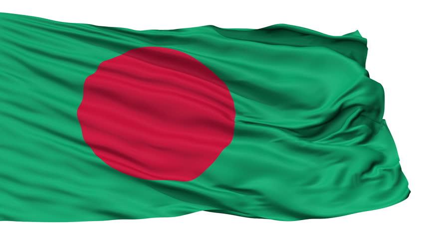 Bangladesh Flag Flying