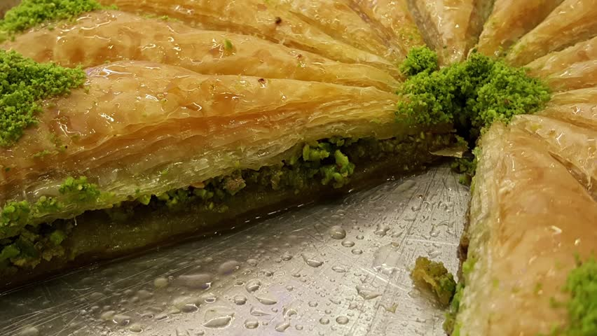 Header of baklava