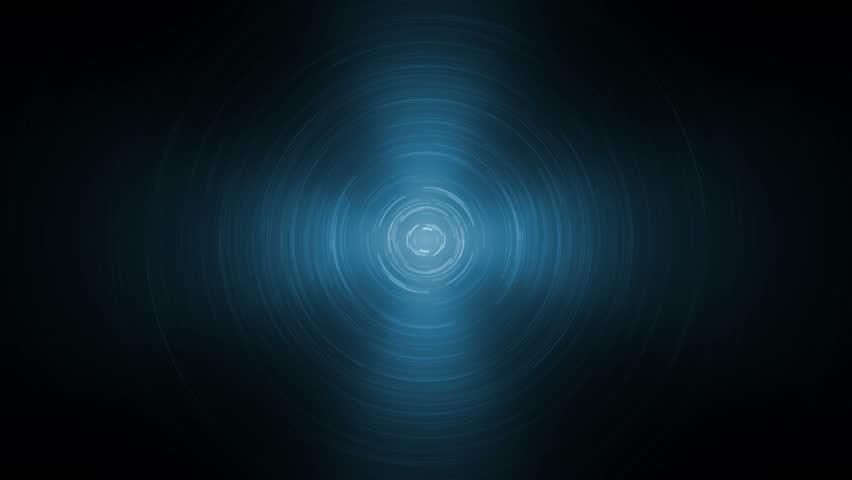 Fractal disco blue background.Animation blue background with waves. Background motion with vintage design. Seamless loop. | Shutterstock HD Video #14516059