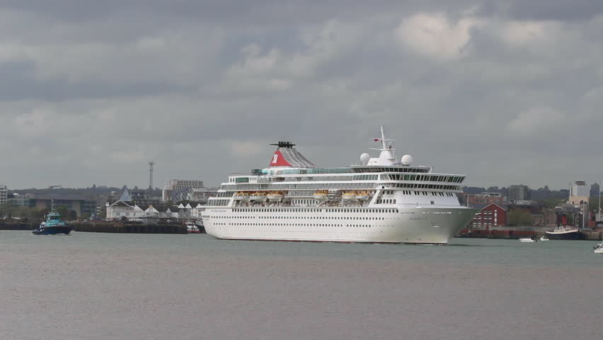 SOUTHAMPTON UK MAY Cruise Liner Balmoral Departs For - Balmoral cruise ship schedule