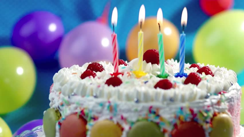 birthday cake images hd stock of candles on the birthday cake 14558689 1762