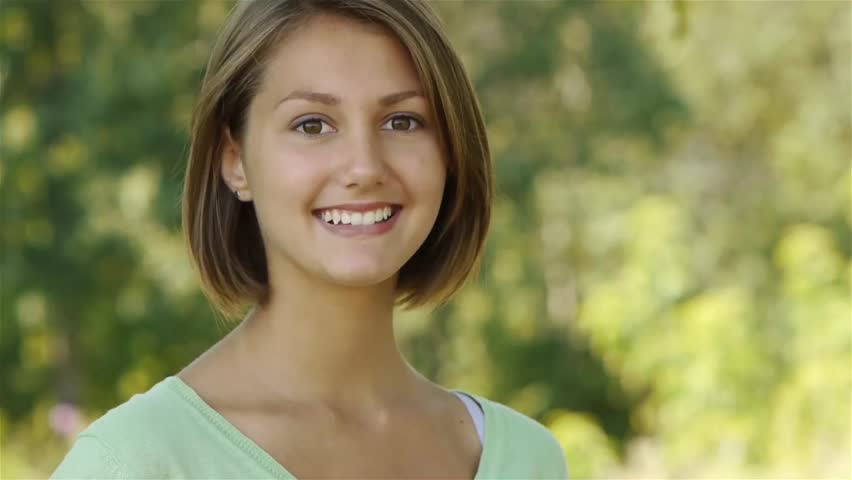 Beautiful Laughing Young Woman Eating Stock Footage Video 100 Royalty Free 14583949 Shutterstock