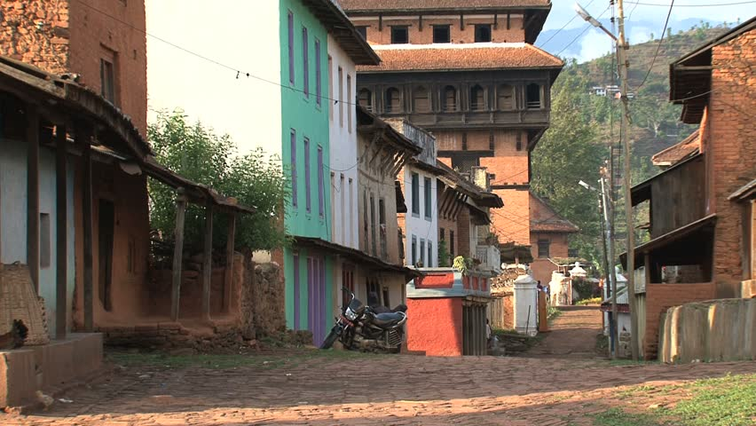 A quiet Nepalese village