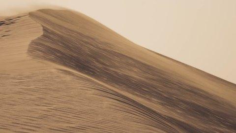 DUNES AND WIND - DESERT