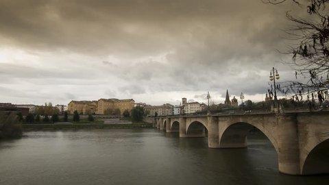 bridge over river in La Rioja