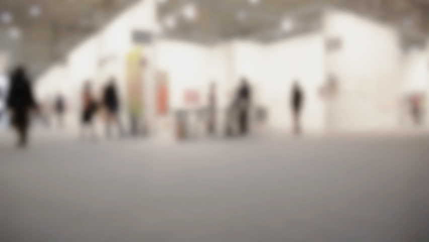 View of People Walking During Stock Footage Video (100% Royalty,free)  14711209