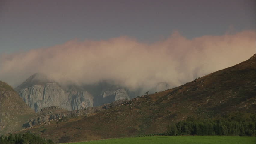 WS Clouds over mountains / South Africa | Shutterstock HD Video #14777905