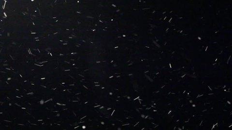 Snow Blizzard Alpha Matte