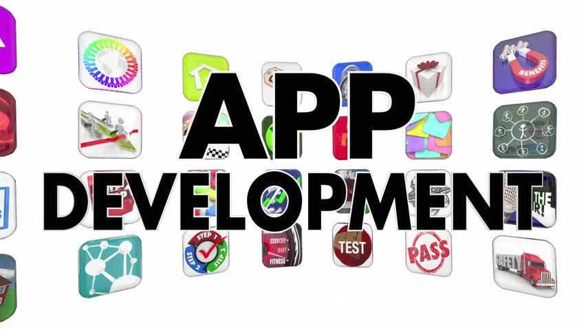 App Development Mobile Software Programming Stock Footage Video (100%  Royalty-free) 14838949 | Shutterstock