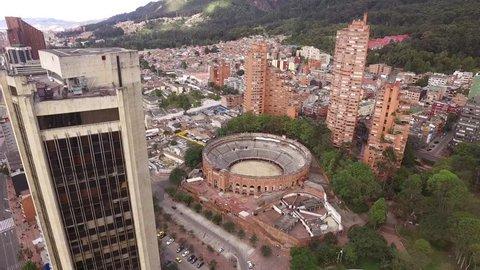 Bogota event center aerial