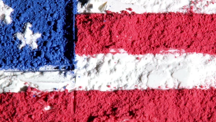 US Map And Flag Black Background Zoom Out Stock Footage Video - Hd us map background