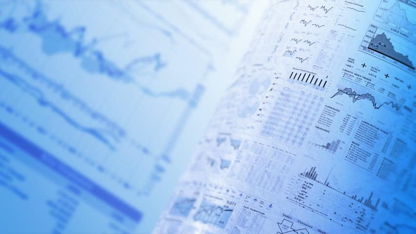 Financial chart background, LOOP, 4k - Ultra HD. | Shutterstock HD Video #15103120