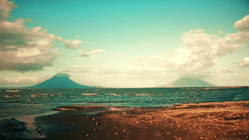 Concepción and Madera: Twin volcanoes in Nicaragua. | Shutterstock HD Video #15127279