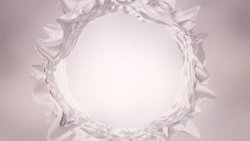 white silk abstract background waving with white silk or water splash to the