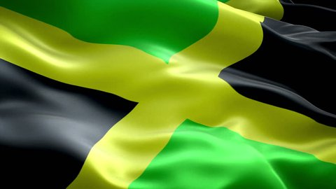 Jamaica national flag, (New surge effect)