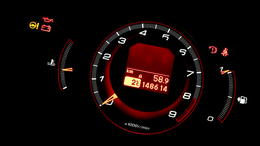 Revving Rpm Gauge in a Stock Footage Video (100% Royalty-free) 15207949 |  Shutterstock