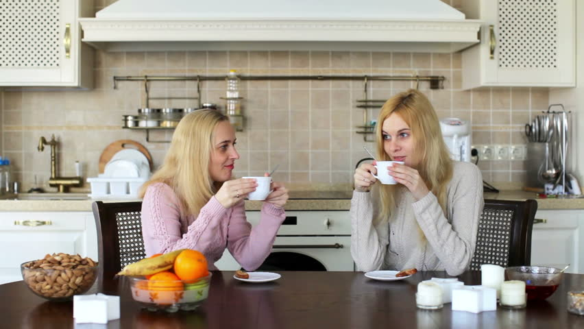 Image result for two girls drinking tea