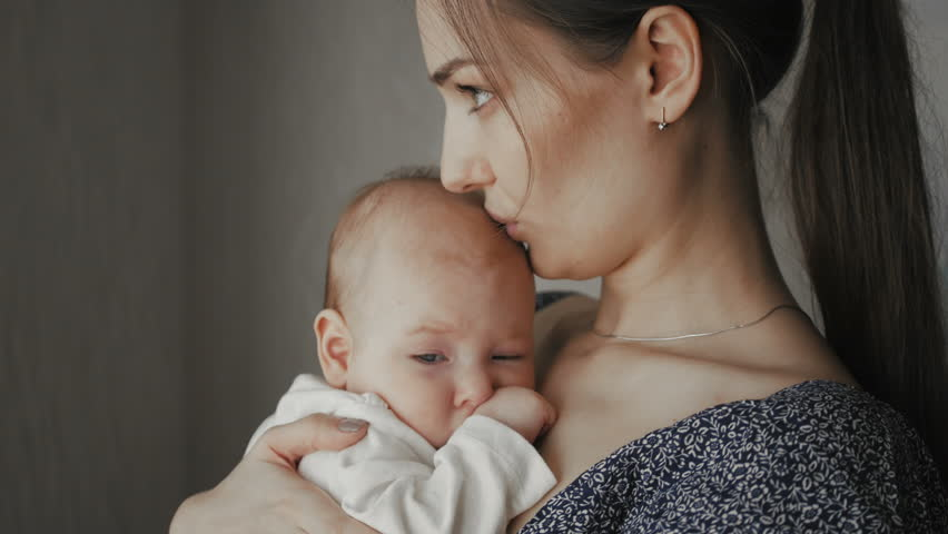 Image result for young mother and baby