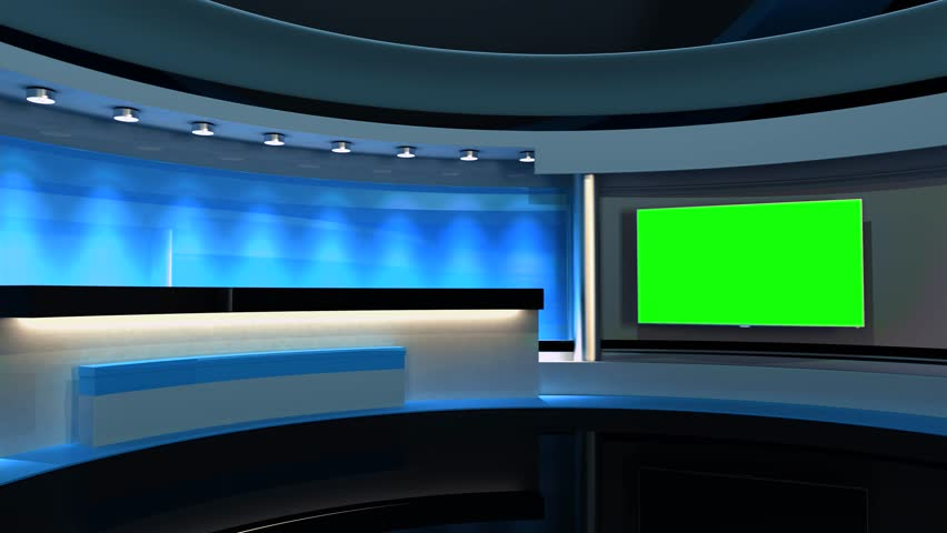 Studio The perfect backdrop for any green screen or chroma key video production. Loop