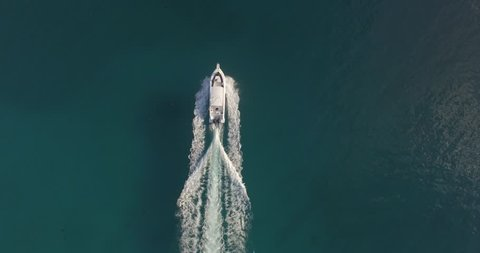 aerial boat view