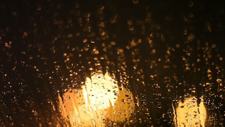 Raindrops Running Down the Glass Stock Footage Video (100% Royalty-free)  15334639 | Shutterstock