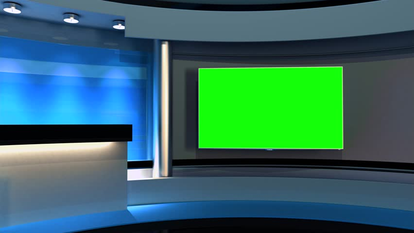 Studio The perfect backdrop for any green screen or chroma key video production. Loop.