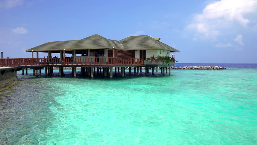 Water Bungalow Bora Sea View With Transparent