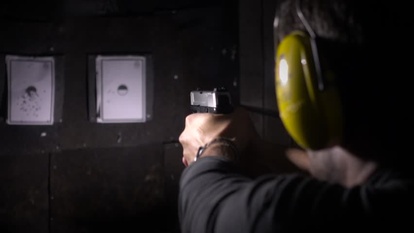 4k shooting targets in a range