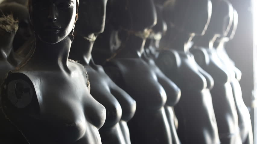 Armless Nude Female Black Mannequin Stock Footage Video (100% Royalty-free)  15639469 | Shutterstock
