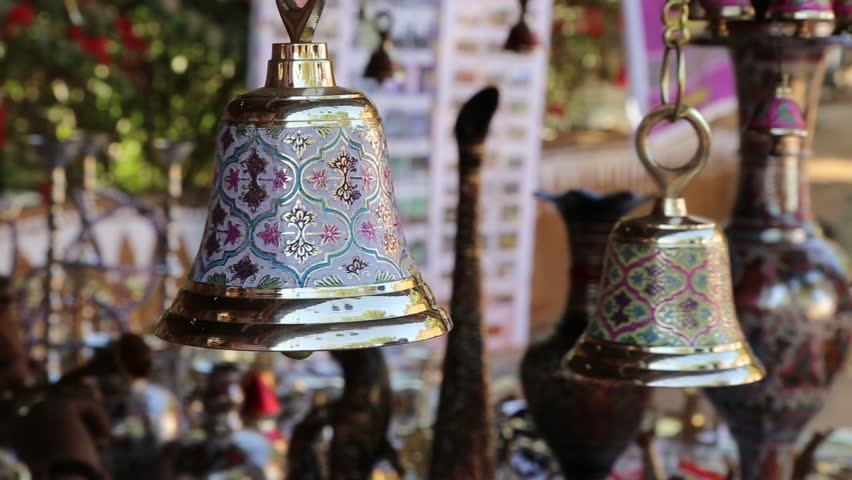 Udaipur India December 24 Brass Stock Footage Video 100 Royalty