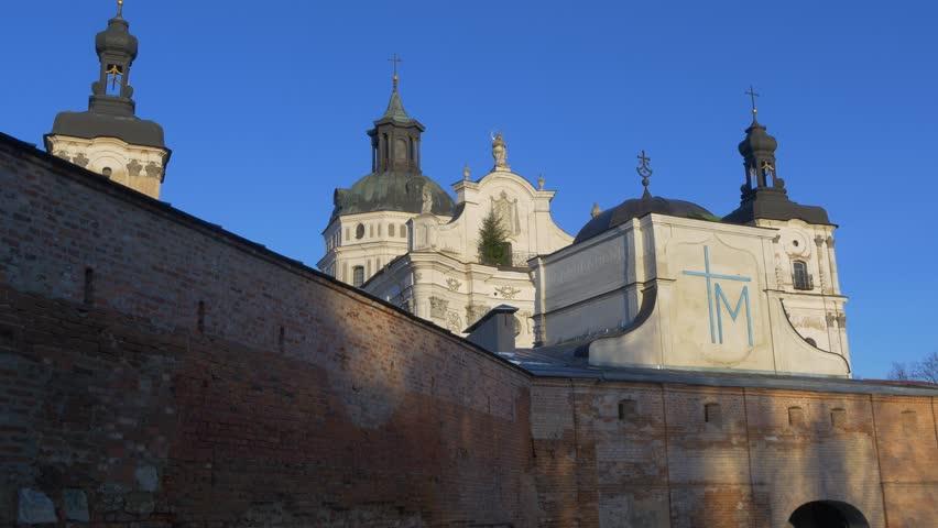 Barefoot Carmelites Monastery in Berdichev Stock Footage Video (100%  Royalty-free) 15850879 | Shutterstock