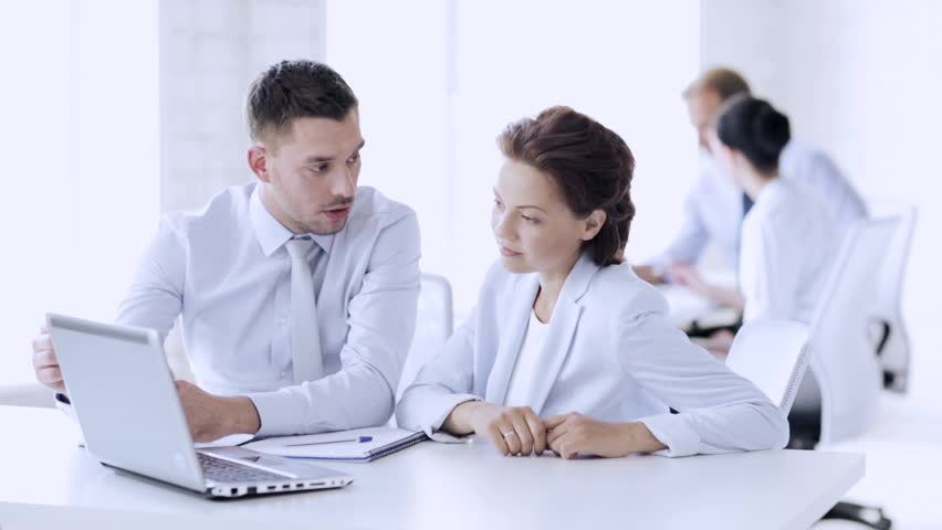 Group of business people having a meeting | Shutterstock HD Video #15880939