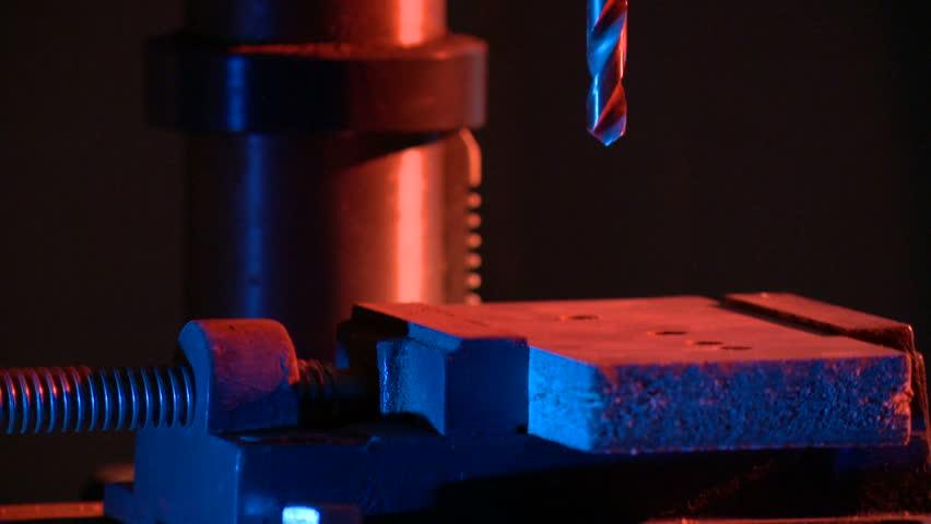 machine-tool, drills, treatment | Shutterstock HD Video #15904489