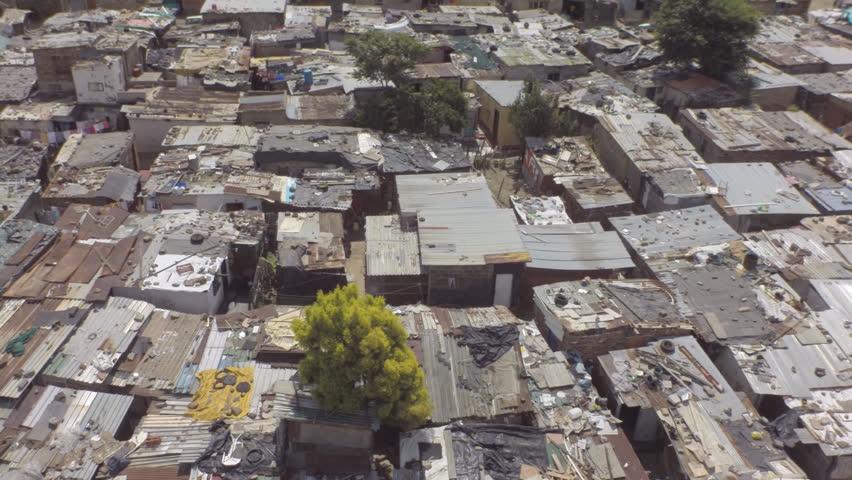 Johannesburg, slum, South Africa, poor