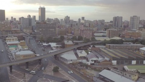 Johannesburg, center, South Africa, street,