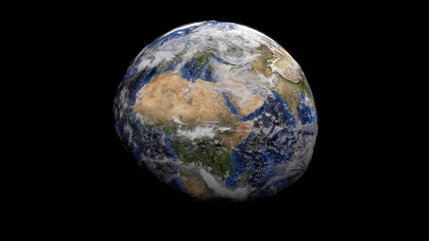 Argentina Map Flag Over Rotating Globe Animation Stock Footage - Argentina globe map