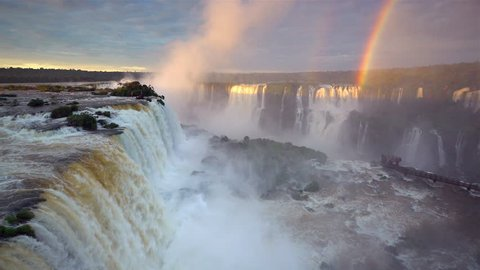 Iguacu Falls, Foz do Iguacu (Iguazu) National Park, Brazil, South America