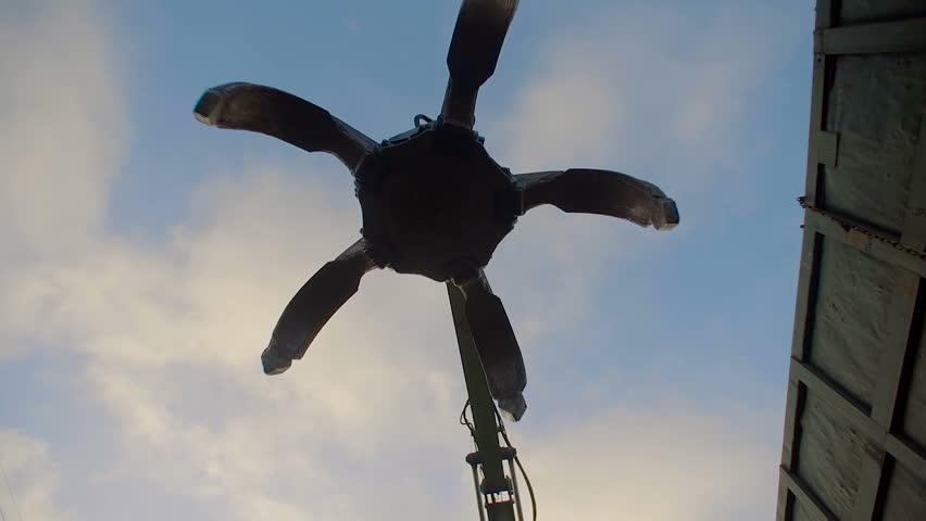 Industrial Peel Grab Rise from Camera   Shutterstock HD Video #16254979